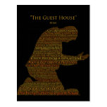 """Rumi's """"The Guest House"""" Poem Postcards"""