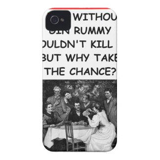 rummy de ginebra Case-Mate iPhone 4 cárcasas