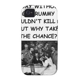 rummy de ginebra vibe iPhone 4 fundas