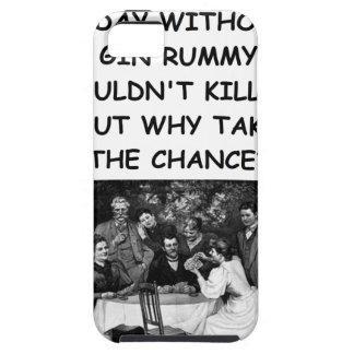 rummy de ginebra iPhone 5 carcasas