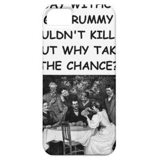 rummy de ginebra iPhone 5 fundas