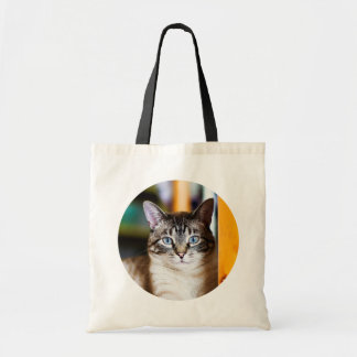 Rummy Full of Flies Siamese Cat Tote Bag