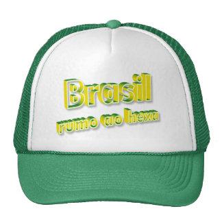 """""""Rumo ao del Brasil hexa """" Gorros"""