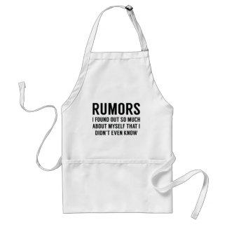 Rumores Delantal