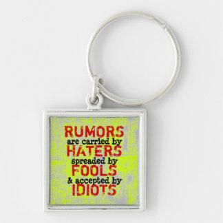 RUMORS ~ Keychain Truism / Philosophy