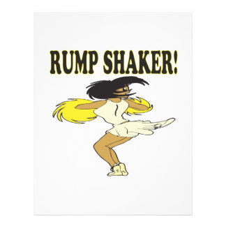 Rump Shaker Personalized Flyer