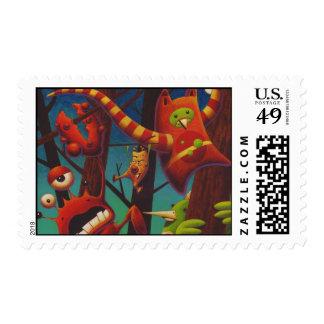 Rumple Fest Postage Stamp