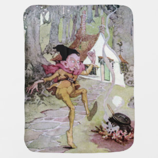 Rumplestiltskin by Anne Anderson Kids Fairy Tale Receiving Blanket
