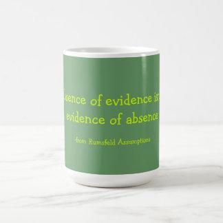 Rumsfeld Classic White Coffee Mug