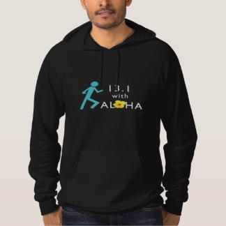 Run 13.1 With Aloha Men's CA Fleece Hoodie