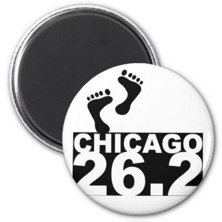 Run 26.2 2 inch round magnet