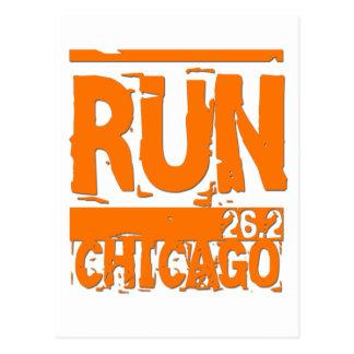 Run 26 2 Chicago Postcard