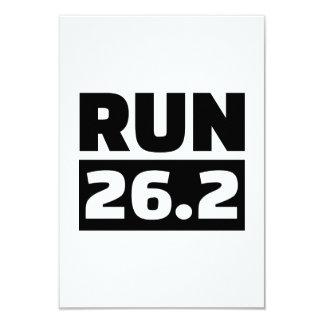 Run 26.2 miles marathon invites