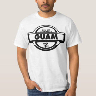RUN 671 GUAM Nissan Race Team emblem tee
