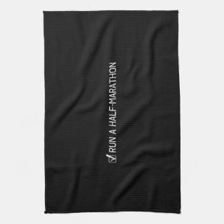 Run A Half Marathon Towels