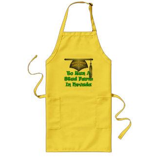 Run A Stud Farm Long Apron