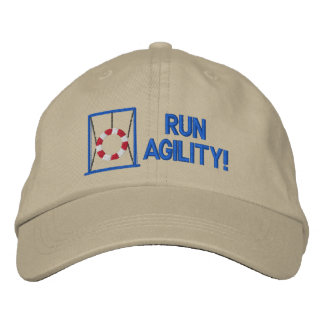 Run Agility Embroidered Hat