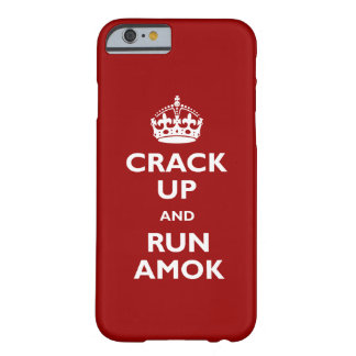 Run Amok Barely There iPhone 6 Case