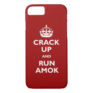 Run Amok iPhone 8/7 Case