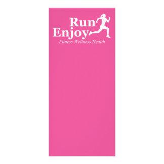Run and enjoy rack card