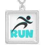 RUN Aqua Necklaces
