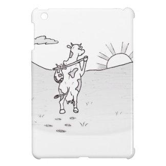 Run Away Cow iPad Mini Covers