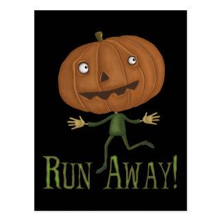 Run Away Postcard Post Cards