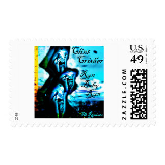 """Run Baby Run """"The Remixes"""" by Clint Crisher Postage"""