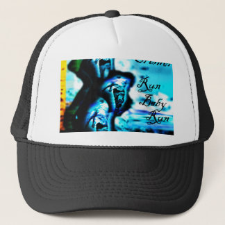 "Run Baby Run ""The Remixes"" by Clint Crisher Trucker Hat"
