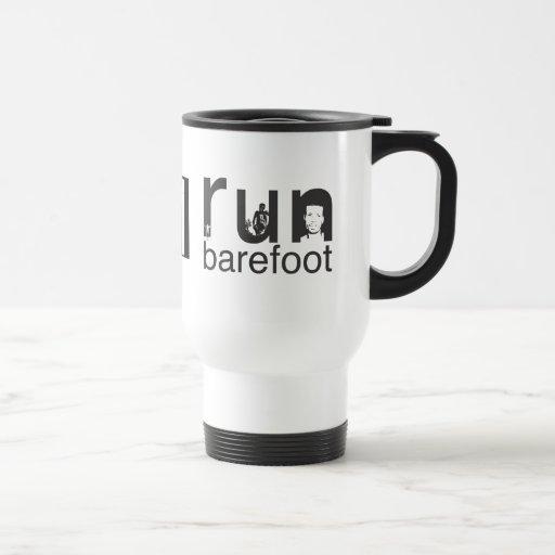 Run Barefoot | Bikila Mug | 50th Anniversary