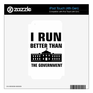 Run better than the Government iPod Touch 4G Skins