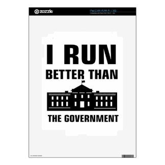 Run better than the Government Skin For The iPad 2