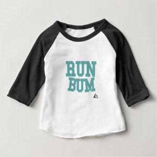Run Bum Teal Baby T-Shirt