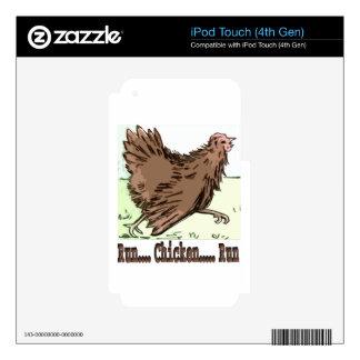 Run Chicken Run Skins For iPod Touch 4G