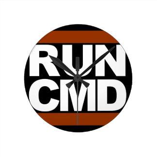 Run CMD Round Clock