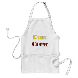 Run Crew (Text Only) Adult Apron