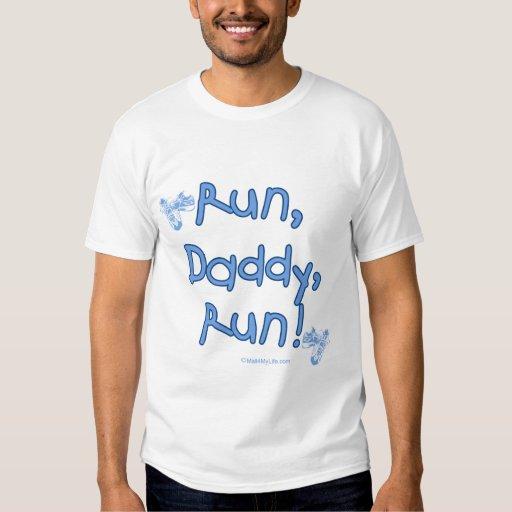 Run Daddy Run - Blue T-shirt