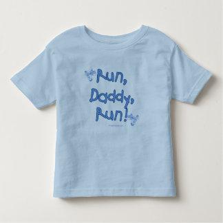 Run Daddy Run - Blue Toddler T-shirt