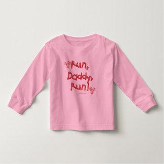 Run Daddy Run - Pink Toddler T-shirt