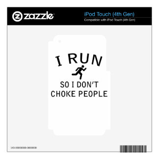run decals for iPod touch 4G