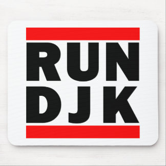 Run DJK Mouse Pad