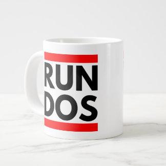 RUN DOS LARGE COFFEE MUG
