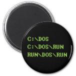 run dos run 2 inch round magnet