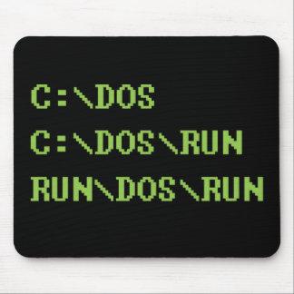 run dos run mouse pad