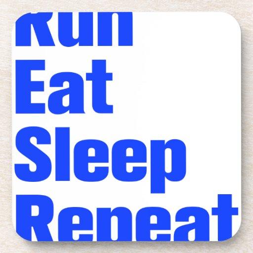 run-eat-sleep-repeat-ak-blue.png posavasos de bebidas