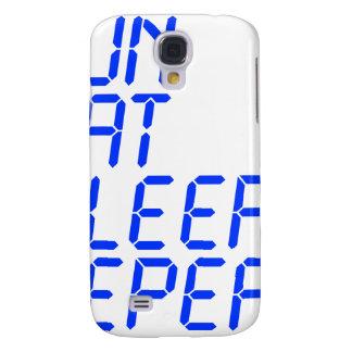 run-eat-sleep-repeat-lcd-blue.png funda para galaxy s4