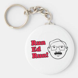 Run Ed Run Keychain