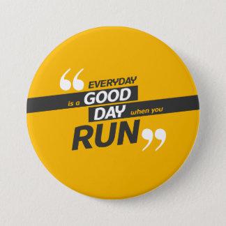 Run Everyday Round Button