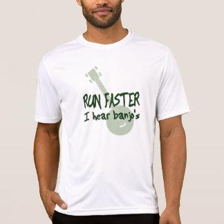 RUN FASTER ~ I hear banjo's T-Shirt