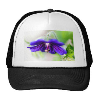 Run flower trucker hat